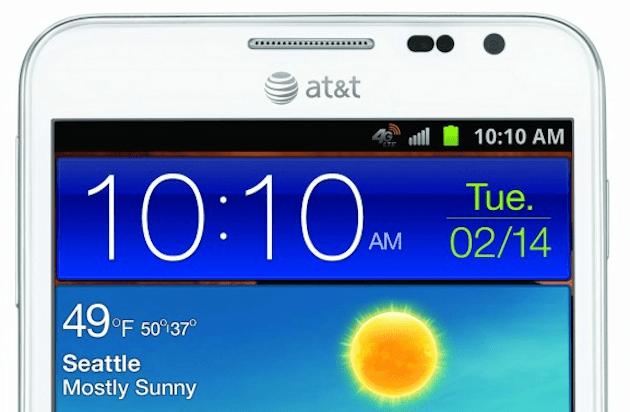 Samsung Galaxy Note 2 AT&T