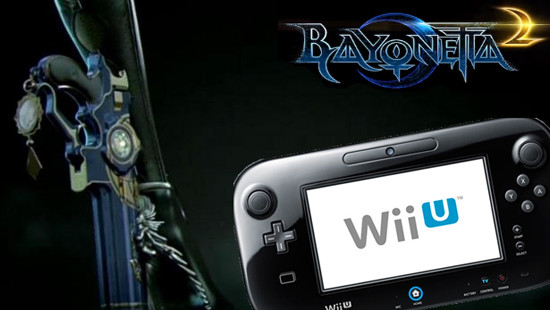 Wii U GamePad Bayonetta 2