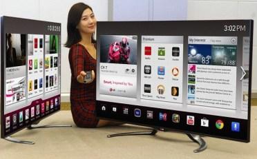 LG Google TV 2013 and LG OLED HDTV