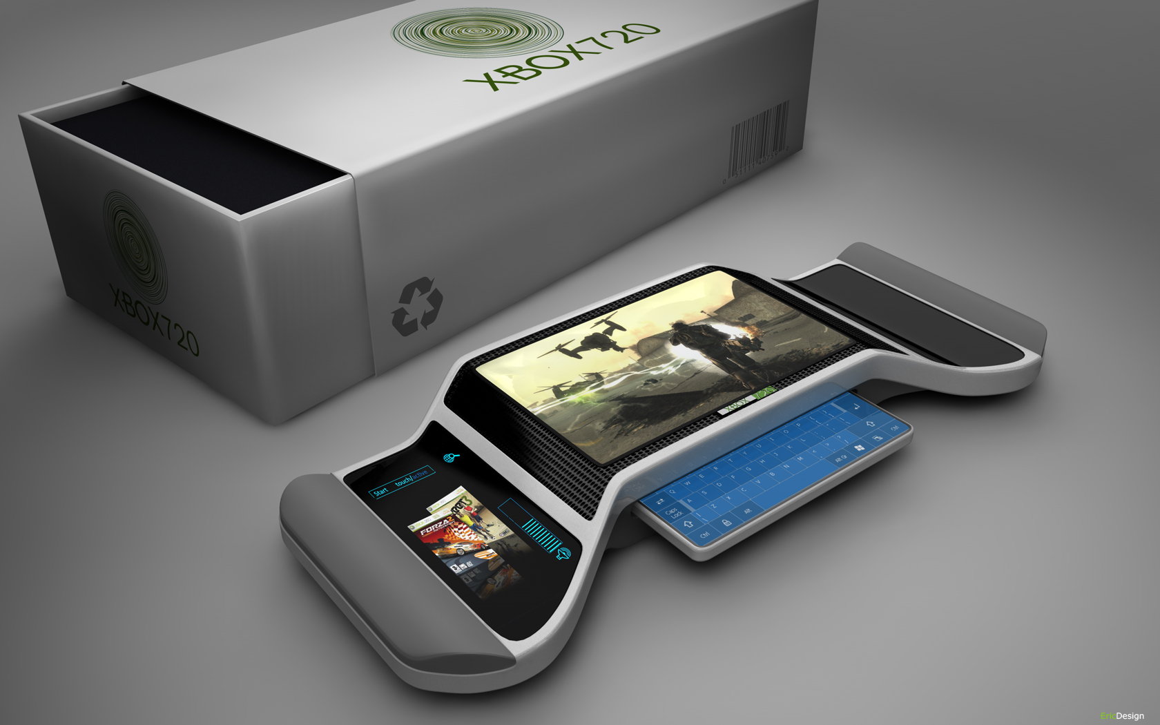 Xbox 720 Controller Design Xbox 720 specs: Kinect...