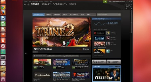 Steam for Ubuntu: Tux Gets Down to It