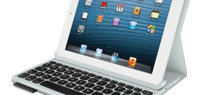 Logitech Keyboard Folio is the perfect companion for iPad and iPad Mini