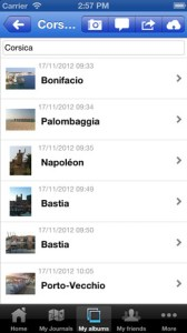 Travel Journals & Travel Photos iPhone App