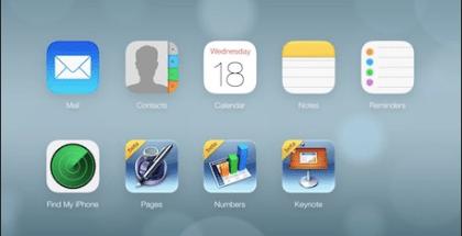 iCloud for iOS 7