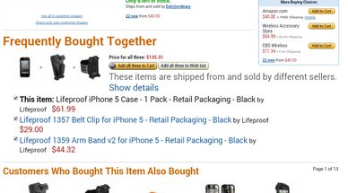 Lifeproof iPhone 5 waterproof case