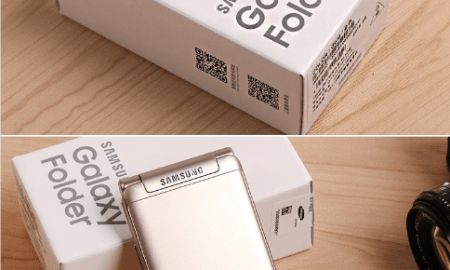 Galaxy Folder 2: The flip phone's retail packaging has been leaked with stunning images