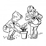 Retro-Kids-Gardening-GraphicsFairy2