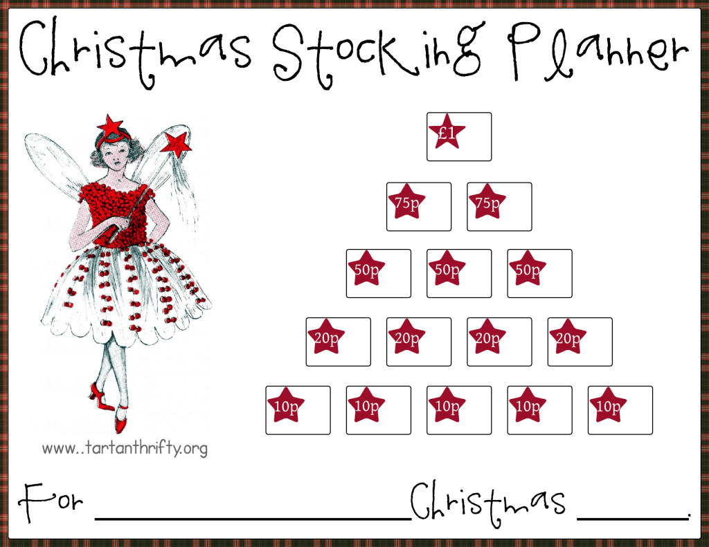 Christmas Stocking Planner 1star