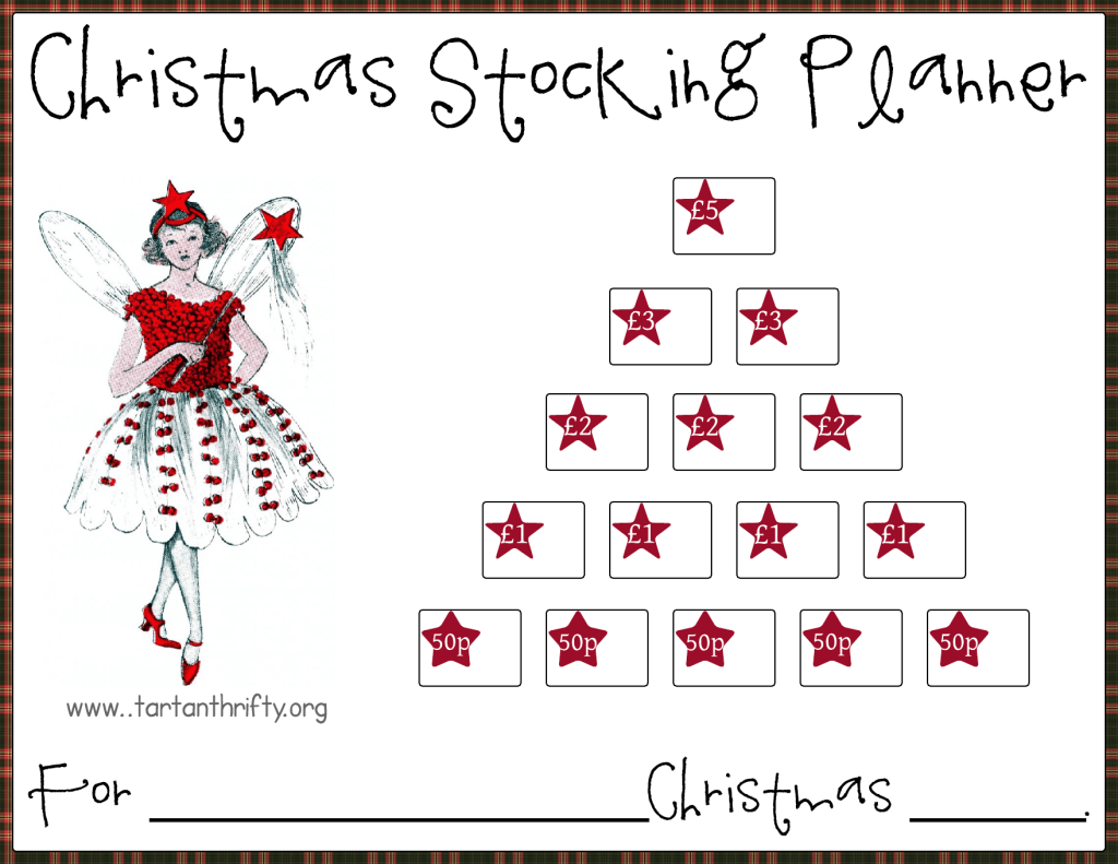Christmas Stocking Planner 5
