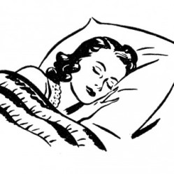Sleeping-Lady-Retro-Image-GraphicsFairy-320x320