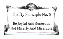 Be Joyful And Generous