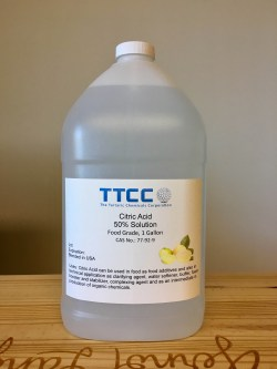 Small Of Citric Acid Water Softener