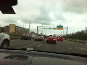 Austin rush hour. Sigh.