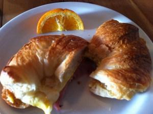 Breakfast. Squeeze Marfa.