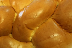 Beautiful Challah Bread.