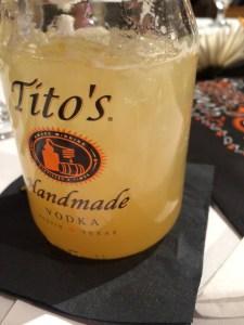 This tasted like a slightly spicy hard lemonade.