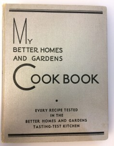 My 2nd. edition, 1935 printing of the BHG Cookbook. I don't think it's ever been used.