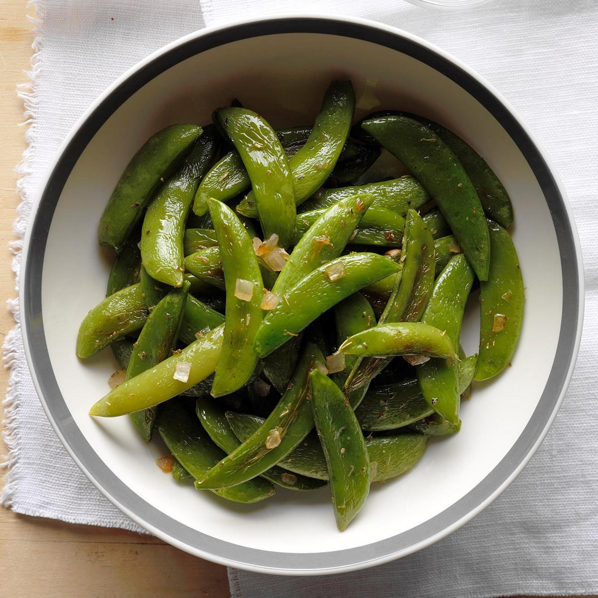 Calm Roasted Sugar Snap Peas Exps Sdam18 36454 B11 30 9b How To Cook Snap Peas Steamed How To Cook Snap Peas Salad nice food How To Cook Snap Peas