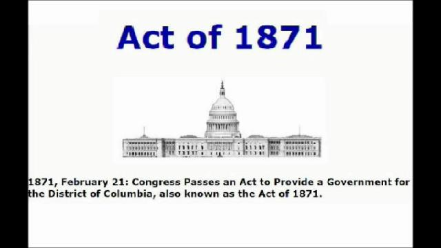 Hello, we the people are looking for the real country of the united states of America. What and why was the District of Columbia even created and how does it reach all across our land? How is our money...