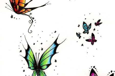 lovely erfly tattoo designs 2