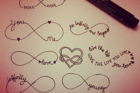 more infinity tattoo designs