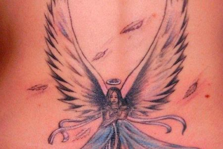 guardian angel tattoo 13