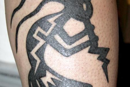 nice kokopelli tattoo