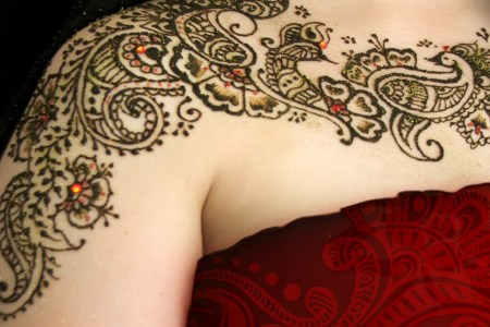 wonderful henna tattoo picture