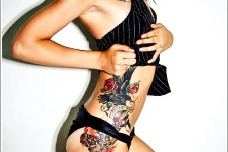 thigh tattoos for women 24