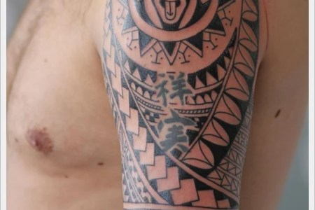 tribal tattoo designs for arms 18