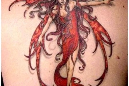 fairy tattoo designs 24