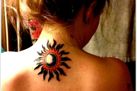 sun tattoo designs 25