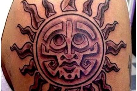sun tattoo designs 5