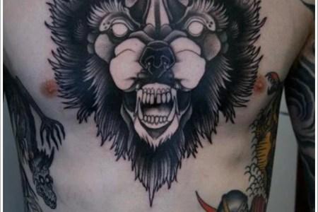 wolf tattoo designs 12