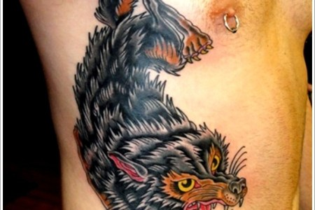 wolf tattoo designs 2