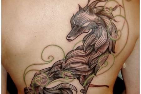 wolf tattoo designs 20
