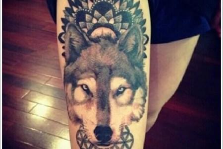 wolf tattoo designs 32