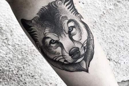 wolf tattoos 120317105