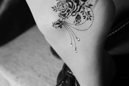 feet tattoo designs 20