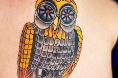 owl tattoo 18