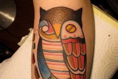 owl tattoo 19