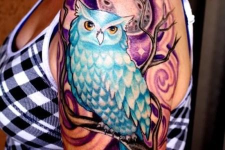owl tattoo 27