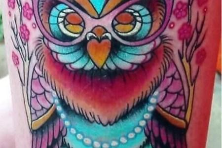 owl tattoo 32