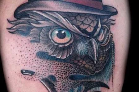 owl tattoo 6