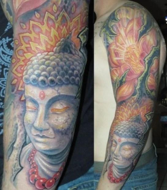 20 Spiritual and Stunning Buddhist Tattoo Designs of 18 by Matthew