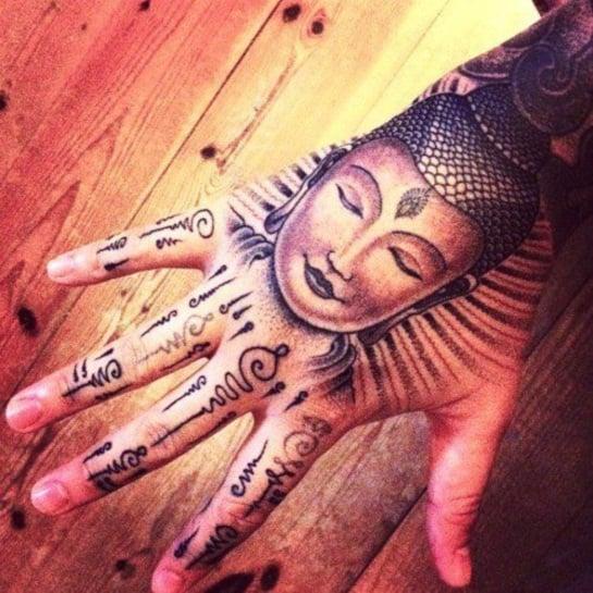 20 Spiritual and Stunning Buddhist Tattoo Designs of 5 by Matthew