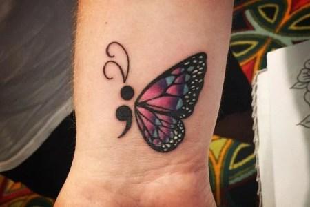 semicolon tattoo 05031794