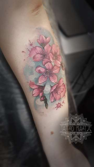 cherryblossom - tattoo - sistersofsaffocation