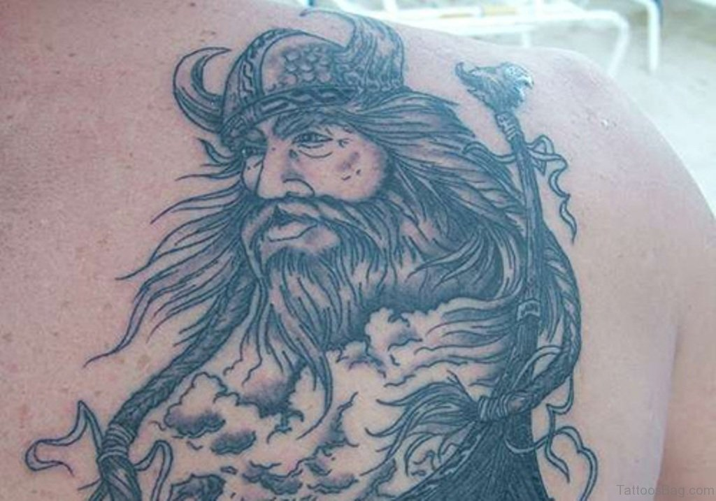 59 Alluring Viking Tattoos For Back of 11 by Levi