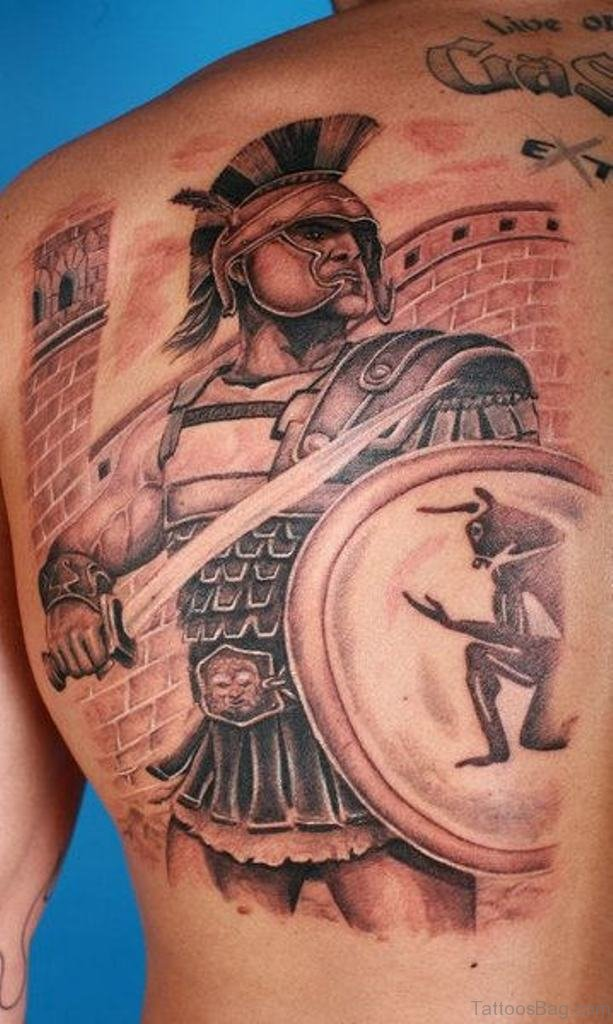 59 Alluring Viking Tattoos For Back of 17 by Levi